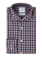 Men's Smyth and Gibson Reg Fit Herringbone Check