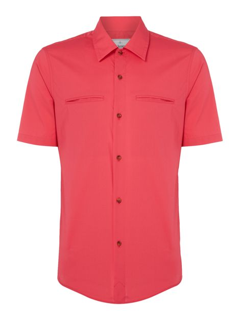 Short Sleeve Oxford Shirt by Vivienne Westwood