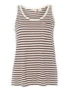 The Perfect Tank Sleeveless Striped Vest