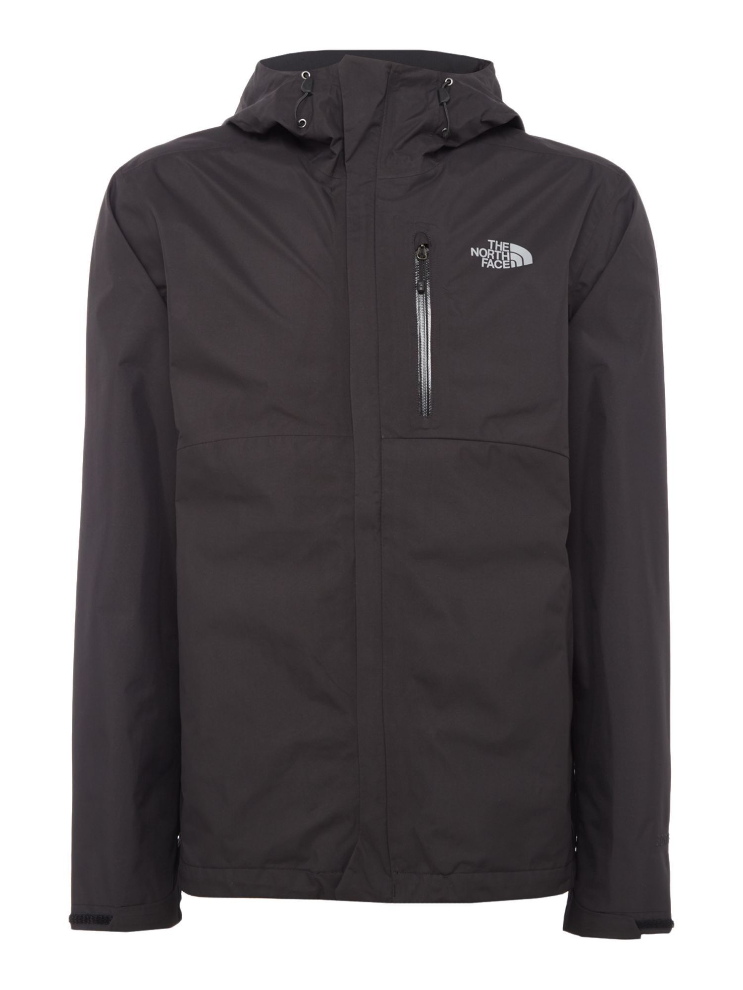 Mens The North Face Goretex waterproof dryzzle jacket Black