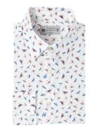 Men's Turner & Sanderson Derwent Italian Fabric Dragonfly