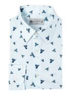 Magpie Italian Fabric Bird Print Shirt