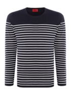 Men's Hugo Soman Knitted Breton Stripe