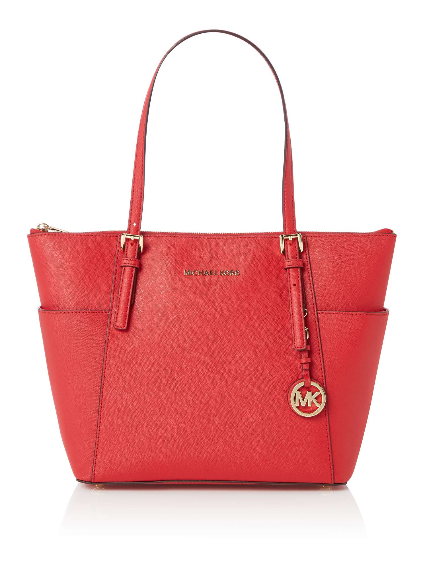 Michael kors bags in dubai - Michael Kors Jetset Item Top Zip Tote Bag