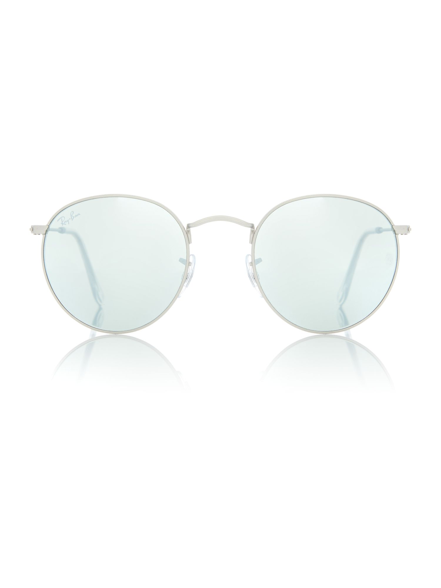 ray ban round sunglasses at house of fraser Ray-Ban Clubmaster Glasses ray ban silver rb3447 round metal sunglasses