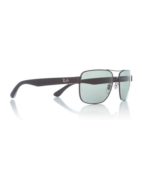 6888aea3dd Ray-Ban Black Rb3530 Square Sunglasses. 263388215. £0.00. Previous.  selectedColor. selectedColor