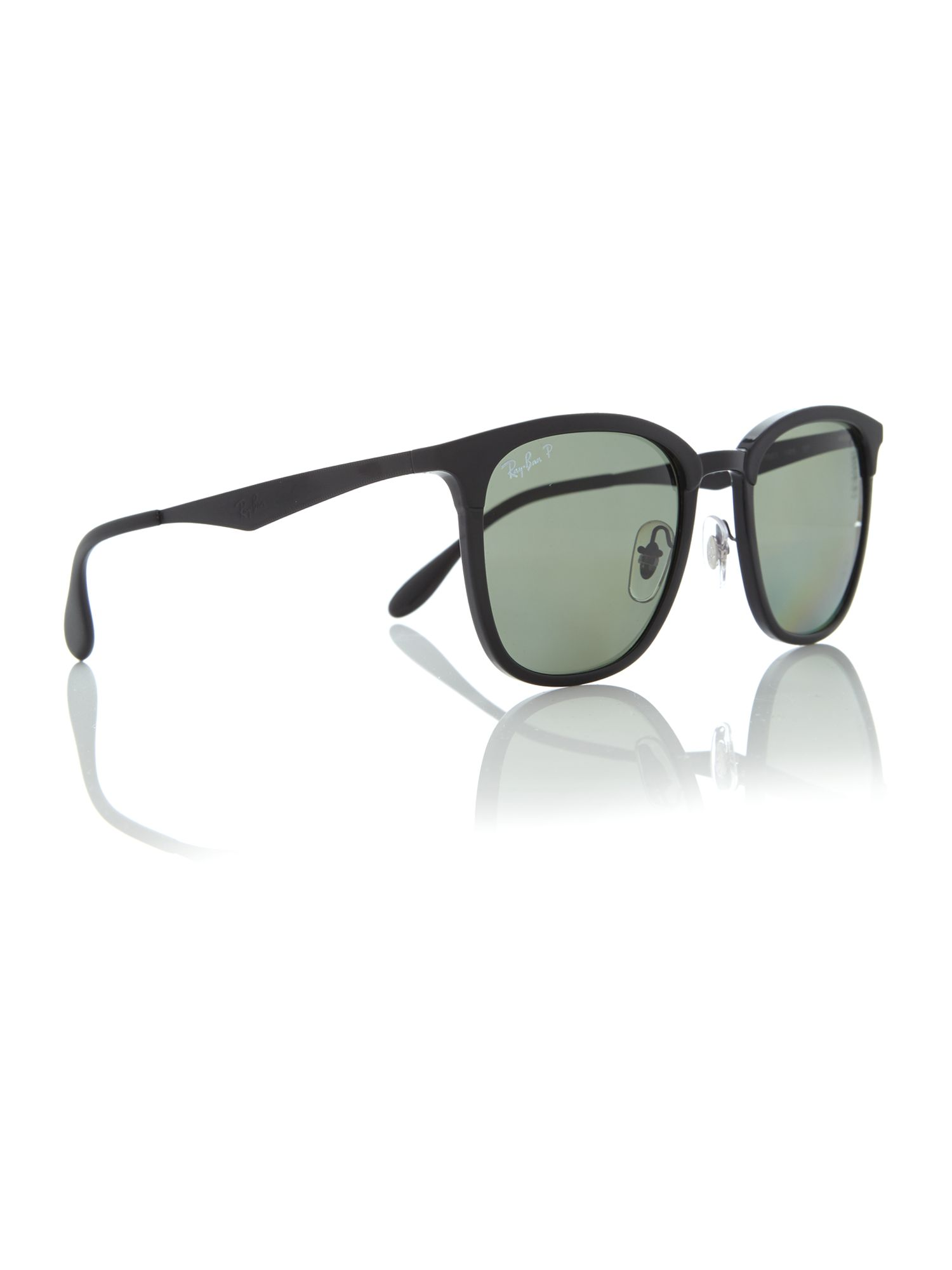 Black Rb4278 Square Sunglasses by Ray Ban