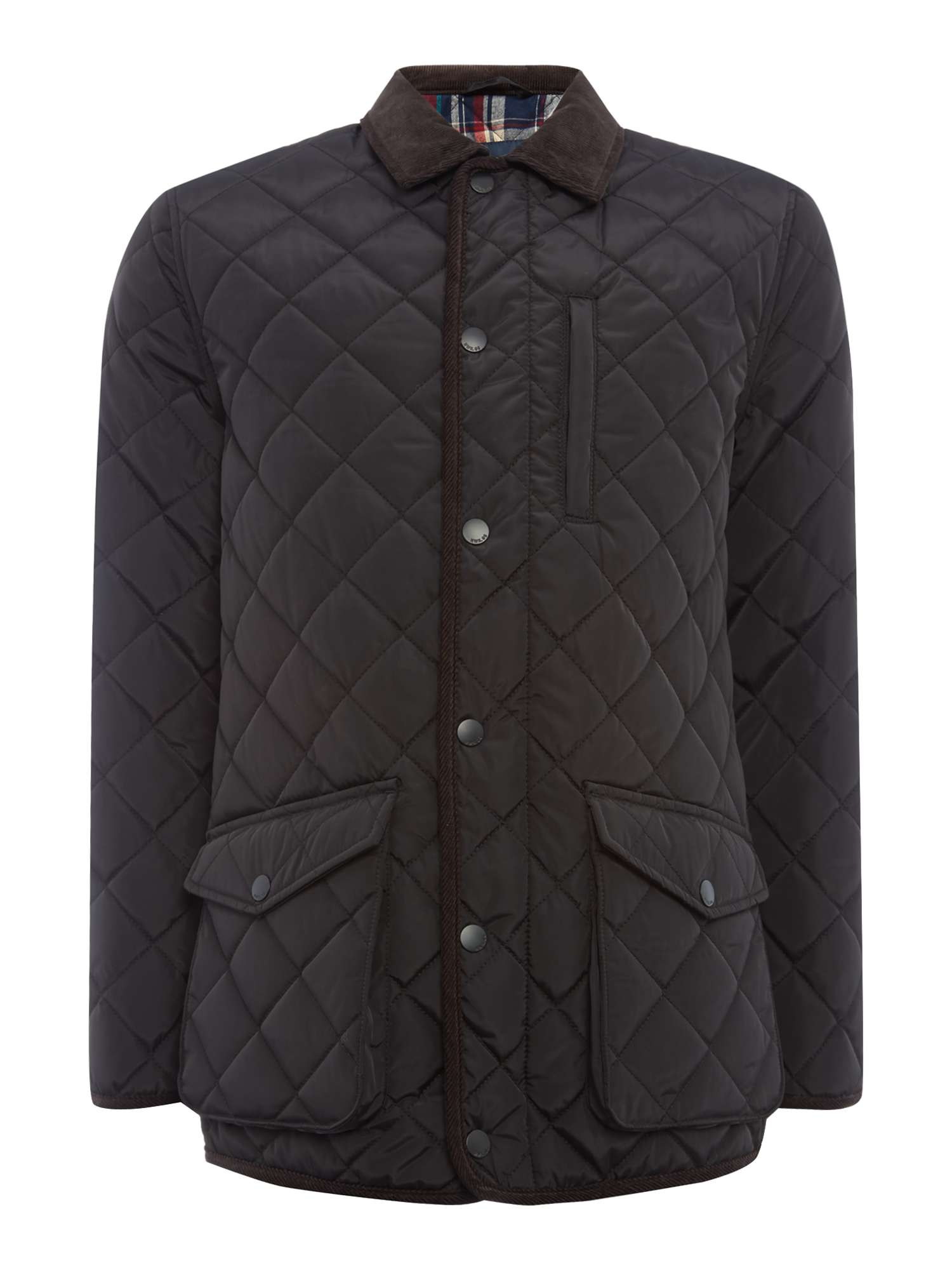 black quilted jacket field mens product new quilt garrington authentic burberry brit nwt