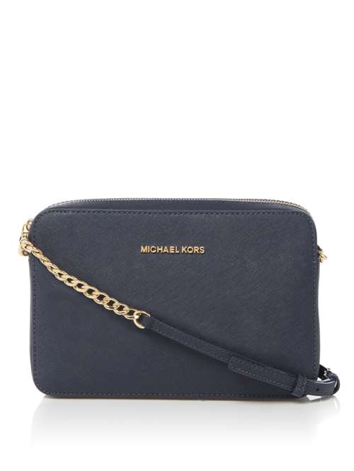 Michael Kors Jet Set Travel Crossbody Bag. 264631205. £175.00. Previous.  selectedColor. selectedColor 9a4183e87a3