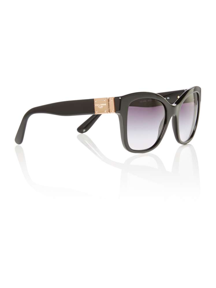 08dcdef37e11 Dolce&Gabbana Black Dg4309 Square Sunglasses - House of Fraser