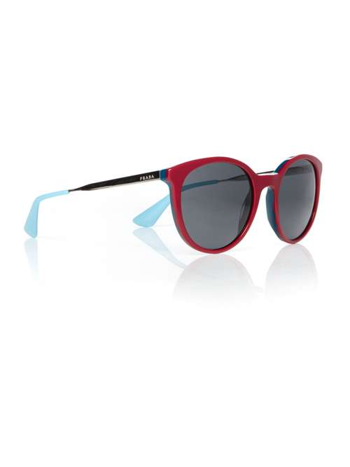 84dd1d8f63 Prada Bordeaux Pr 17ss Cinema Round Sunglasses. 264819895. £217.00.  Previous. selectedColor. selectedColor