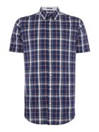 Men's GANT Short Sleeve Chambray Check Shirt