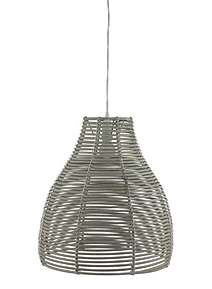 Bamboo ceiling lights at house of fraser gray willow annika weave easy fit ceiling light aloadofball Choice Image