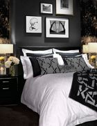 Karl Lagerfeld Boutique square pillowcase pair