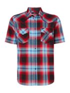 Men's Diesel Short Sleeve Check Shirt