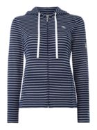 Lauren Ralph Lauren Striped zip lounge jacket