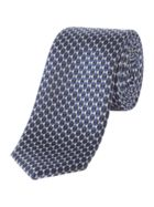 Kenneth Cole Narita Geo Texture Silk Tie