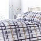 Linea Emmeline check digital print duvet cover