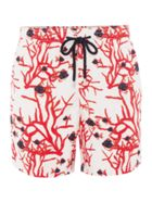 Moorea Coral And Fishes Print Shorts