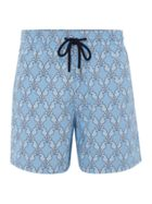 Men's Vilebrequin Diamond Seahorse Swim Shorts
