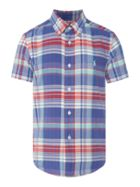 Boys Madras Shirt