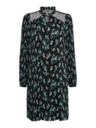 Tokyo Dragon Printed Pleated Dress