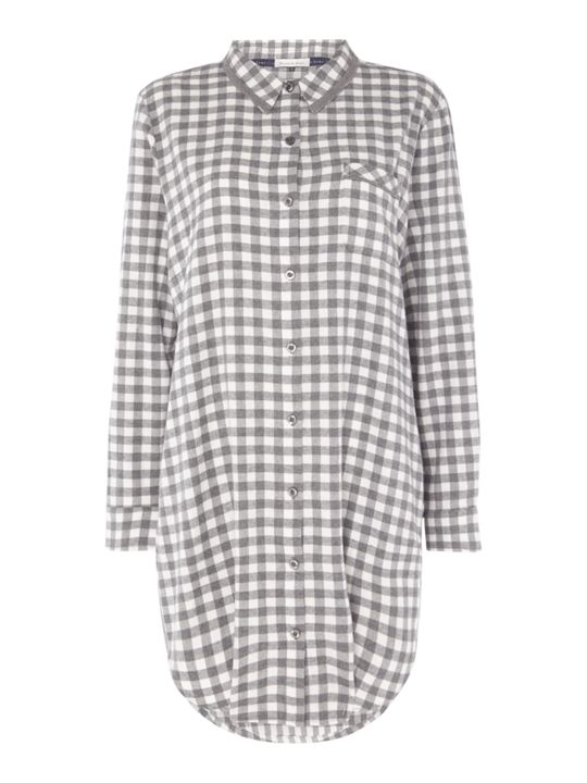 Maison De Nimes Gingham Check Nightdress