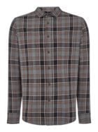 Men's Criminal Kent Check Long Sleeve Shirt