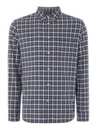 Men's Criminal Brody Multi Check Long Sleeve Shirt