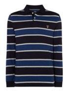 Men's Howick Tedford Plain Long Sleeve Polo Shirt