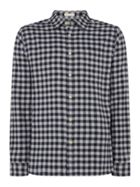 Men's Howick Firestone Brushed Gingham Long Sleeve Shirt