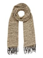 Dents Long scarf tassle knit