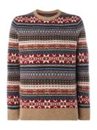 Men's Howick Fireside Fairisle Crew Neck Jumper