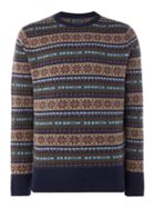 Men's Howick Harvard Fairisle Crew Neck Jumper