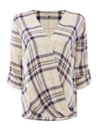 Maison De Nimes Oak Check Fluid Shirt