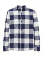Howick Junior Boys Large Scale Brushed Check Shirt