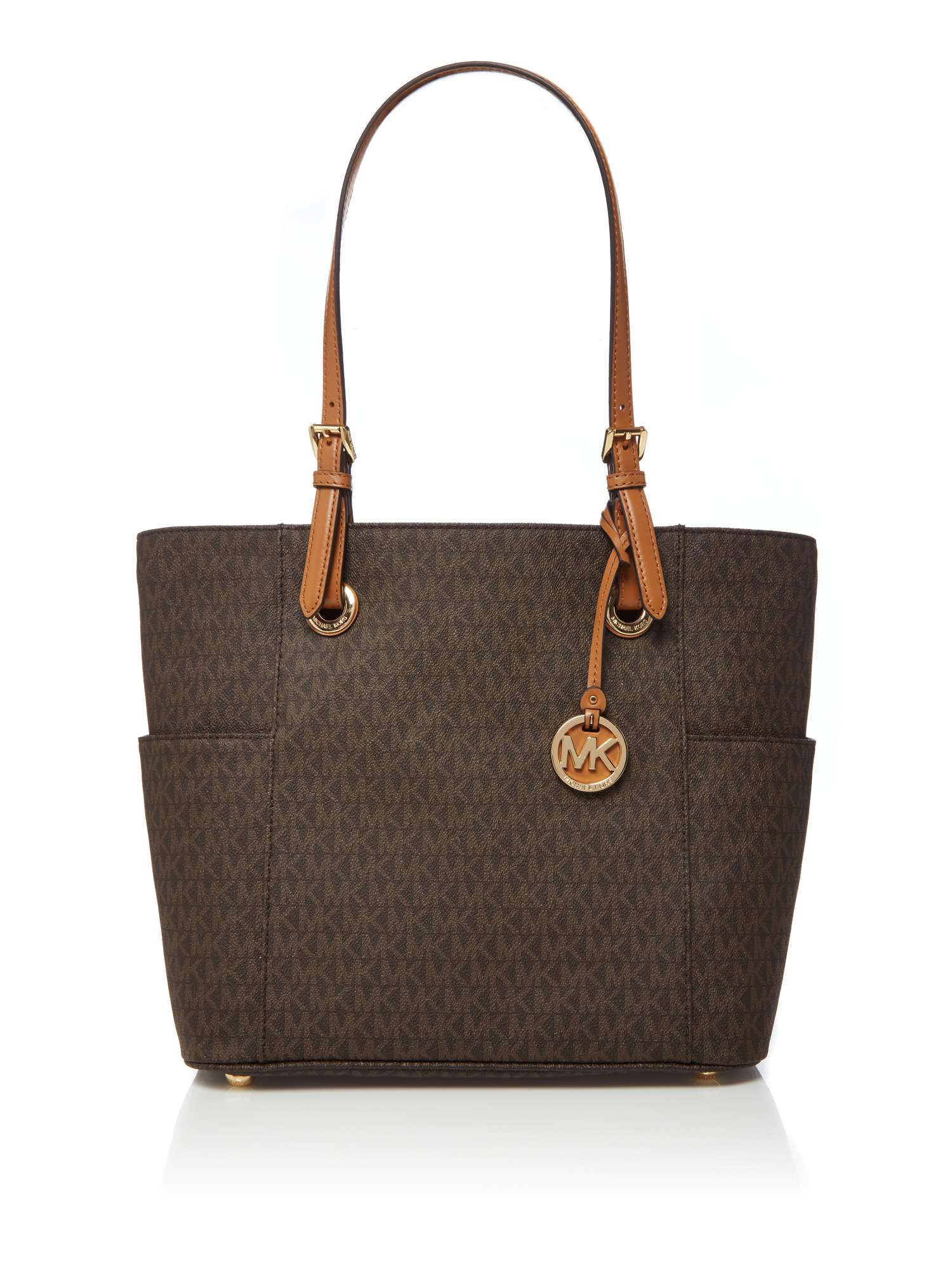 Michael Kors Jet Set Item Signature Tote Bag