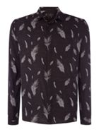 Goldie Feather Print Shirt