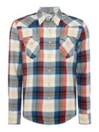 Men's Levi's Plaid barstow western hemp shirt