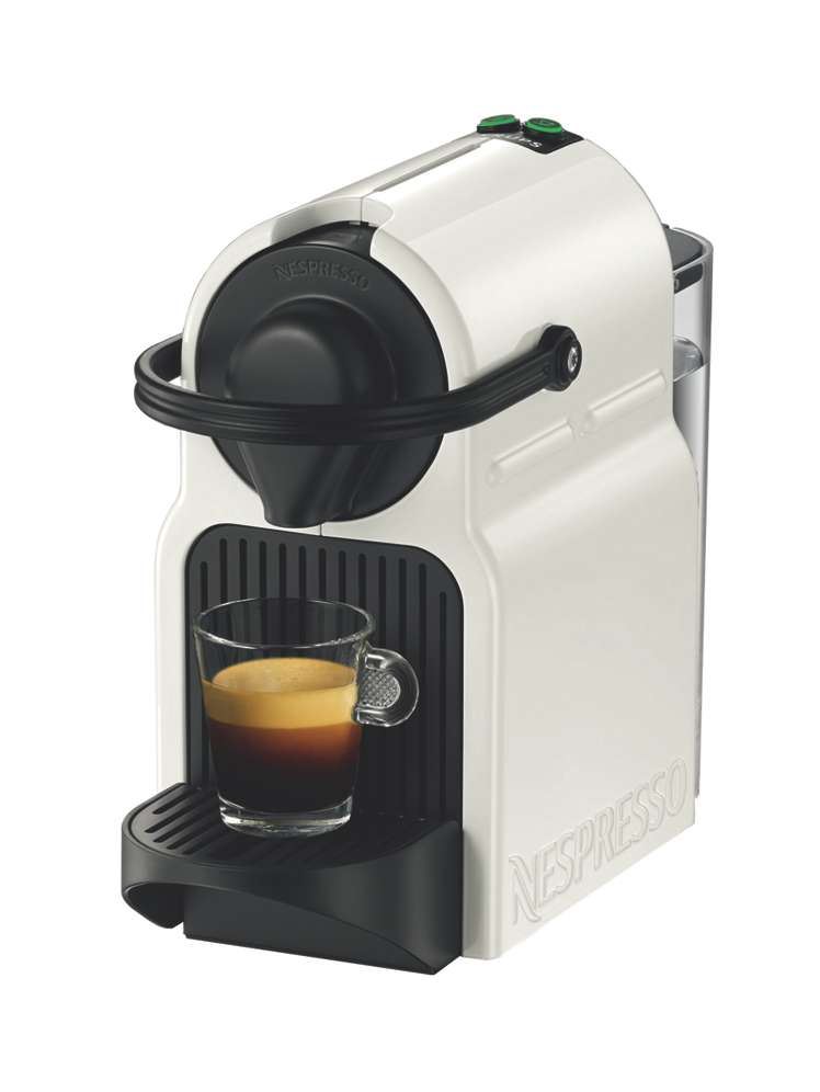 Krups Nespresso Inissia Machine, White - House of Fraser