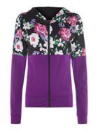 Guess Ow Floral Windbreaker Jacket