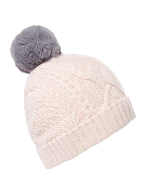 Ted Baker Cable Knit Bobble Hat - House of Fraser ceaa6d0fd702