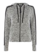 Calvin Klein Long sleeves hooded zip sweater