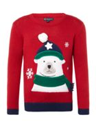 Howick Junior Boys Polar Bear Christmas Jumper