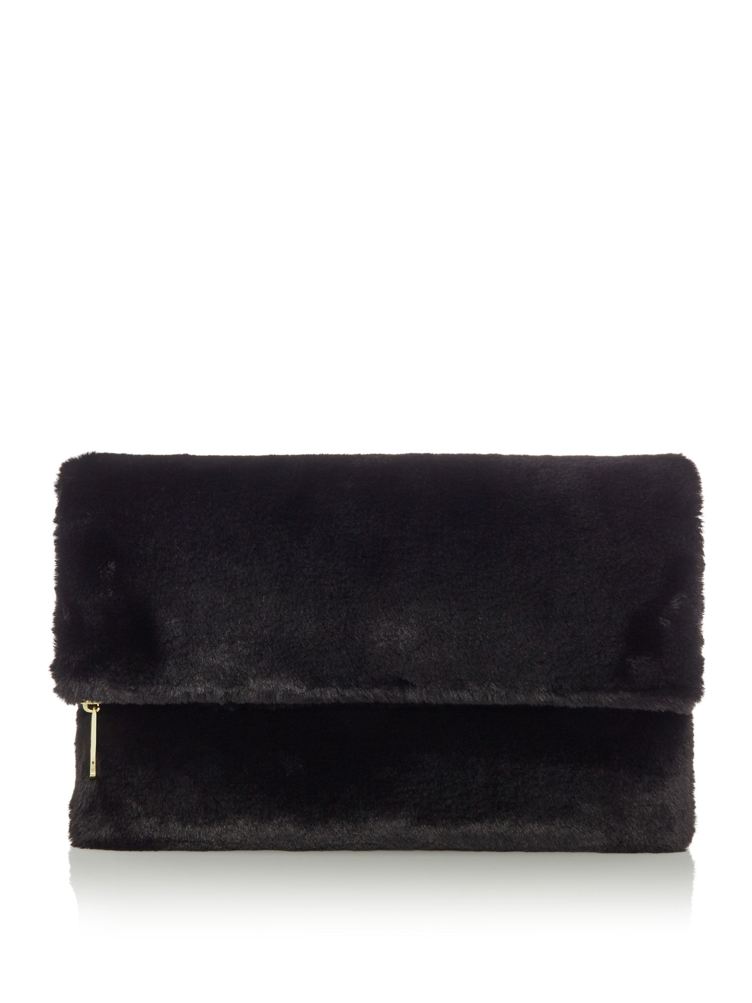 Therapy cuddle fur clutch