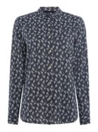 Barbour Vine Shirt With Leaf Print