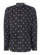 Men's Label Lab Myers Fan Print Shirt