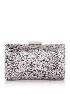 Olga Berg Glitz glitter cross body clutch
