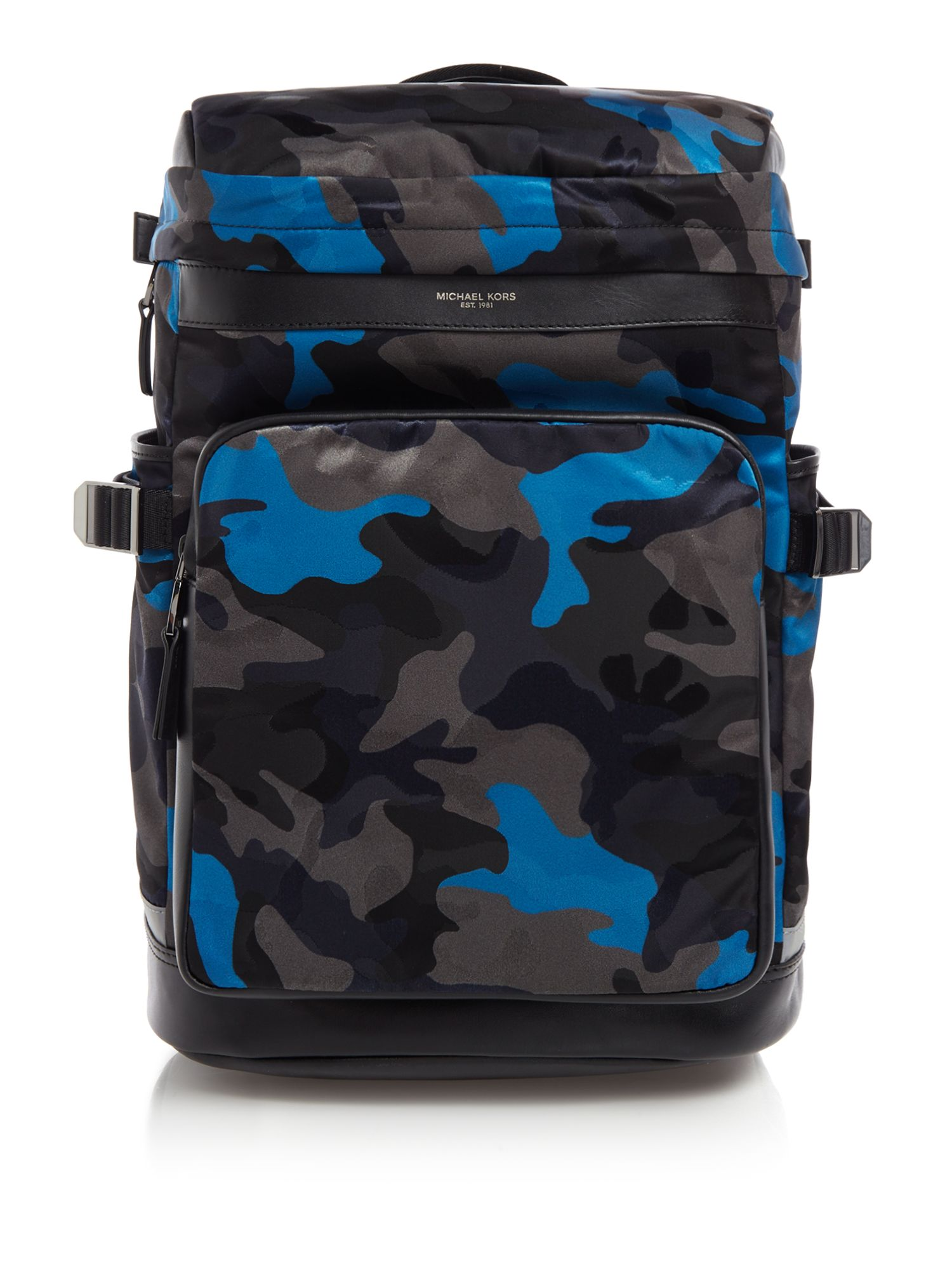 Michael Kors Kent Camo Cyclist Backpack, Camo