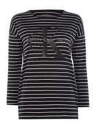 Calvin Klein Trix long sleeve crew neck striped